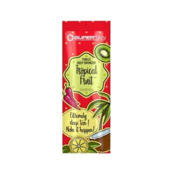 Tropical fruit Tingle & deep bronzers tanning lotion - SuperTan 15ml