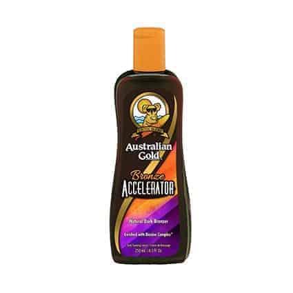 Accelerator Bronze tanning lotion - Australian Gold