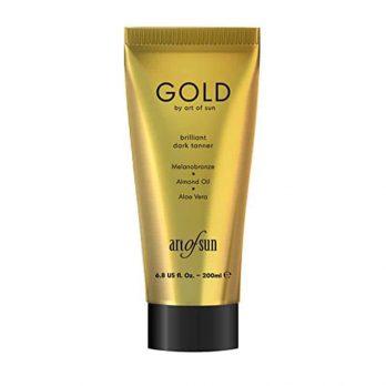 GOLD brilliant dark tanning lotion by Art of Sun