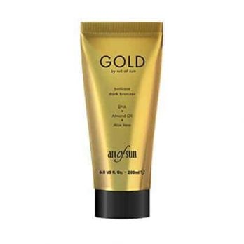 GOLD brilliant dark tanning lotion by Art of Sun