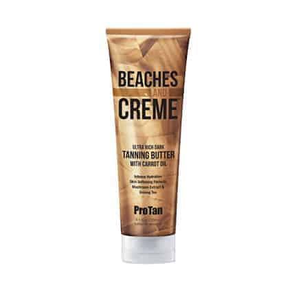 Beaches and Creme Ultra rich dark Tanning butter - ProTan