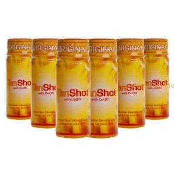 Tan Shot! Sol och vitamindryck med CoQ10  ( 6 st flaskor )