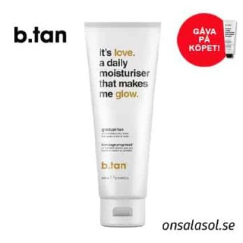 It's Love A Daily Moisturizer That Makes Me Glow - b.tan
