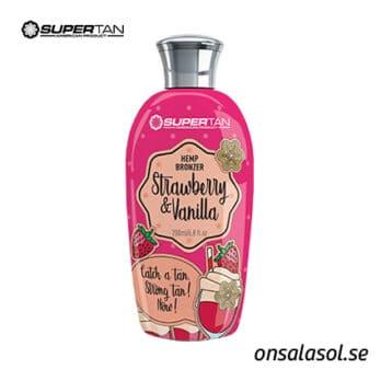Strawberry & Vanilla bronzer tanning lotion - SuperTan