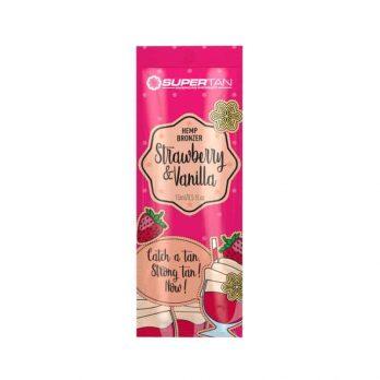 Strawberry & Vanilla bronzer tanning lotion - SuperTan 15ml