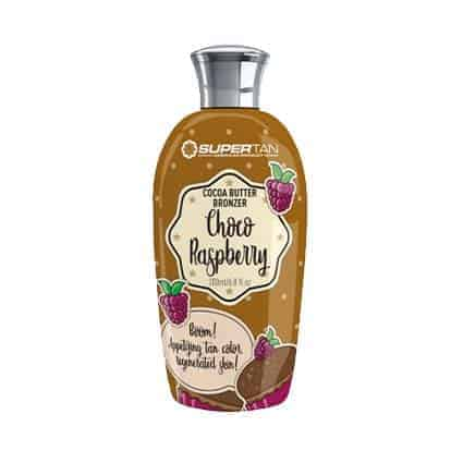 Choco Raspberry tanning lotion - SuperTan