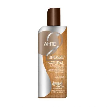 White 2 Bronze Natural tanning lotion – Devoted Creations