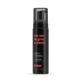 Too tan to give a damn 1 hour Self Tan Mousse insanerly dark - b.tan