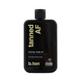Tanned AF tanning body oil - b.tan
