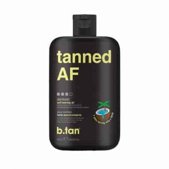 Tanned AF tanning body oil- b.tan