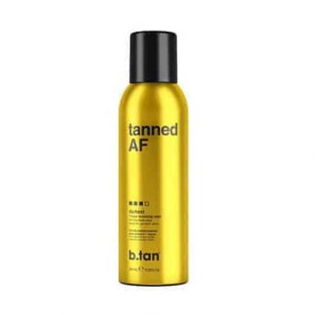 Tanned AF 1 hour Self Tan bronzing mist - b.tan