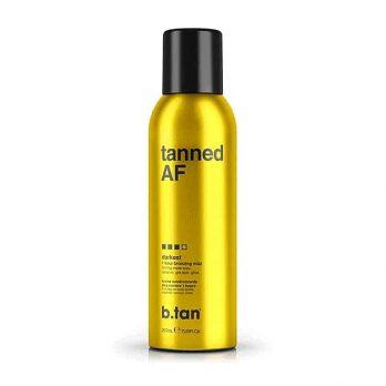 Tanned AF 1 hour Self Tan bronzing mist- b.tan