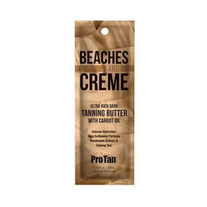 Beaches and Creme Ultra rich DARK Tanning butter - ProTan 22ml