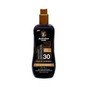 Spray Gel SPF 30 with instant bronzer - Australian Gold 100ml