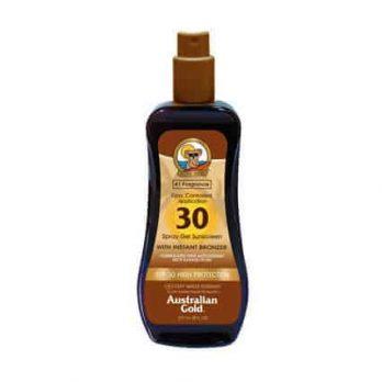 Spray Gel SPF 30 with instant bronzer - Australian Gold