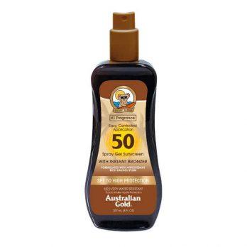 Spray Gel SPF 50 with instant bronzer - Australian Gold