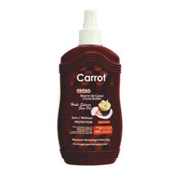 Cocoa Butter Sun Oil - Carrot Sun