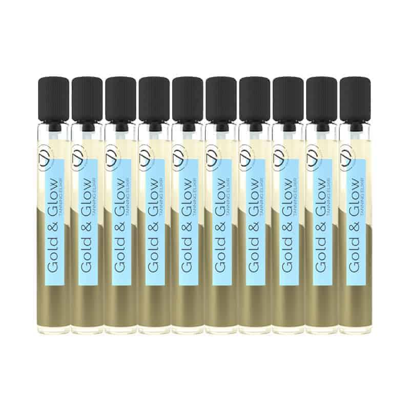 Gold & Glow Tanning elexir – Seven Suns 10x5,7ml