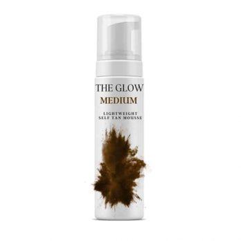 The Glow - Medium self tan mousse 10%- SprayTanning